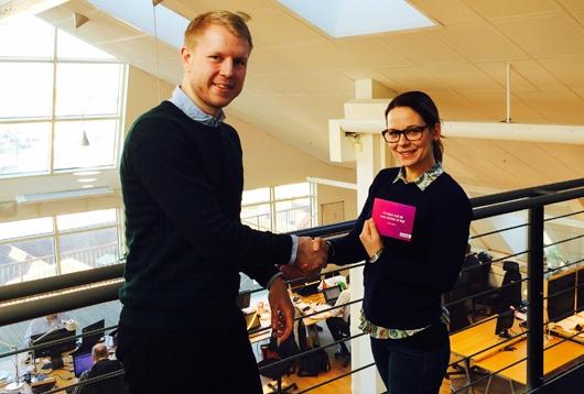 Vinnare Marinella Larsson